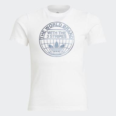 Kids 4-8 Years Originals White Graphic Print T-Shirt