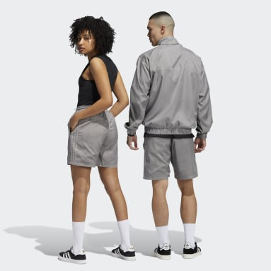 Originals Grey Garment Dyed Shorts (Gender Neutral)