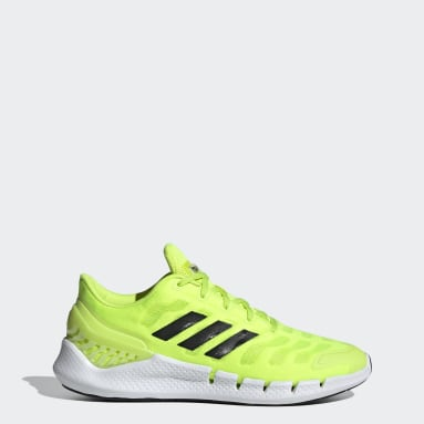 Sapatos Ventania Climacool Amarelo Running