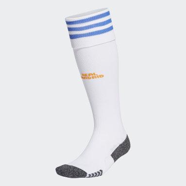 Football White Real Madrid 21/22 Home Socks