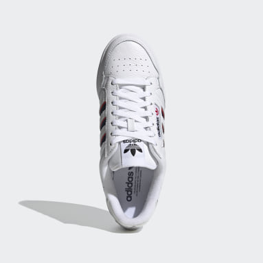 Erkek Originals Beyaz Continental 80 Stripes Ayakkabı