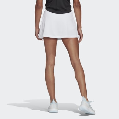 Women Tennis White Club Tennis Skirt