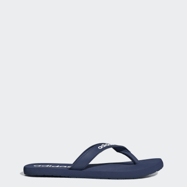 Swimming Blue Eezay Flip-Flops
