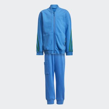 Kids Gym & Training Blue adidas x Classic LEGO® 3-Stripes Track Suit