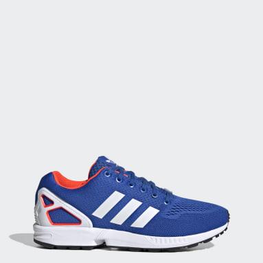 Dames Originals Blauw ZX Flux Schoenen