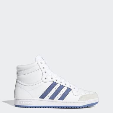 Sapatos Top Ten Branco Homem Originals