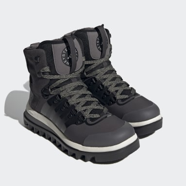 Women adidas by Stella McCartney Black Outdoor Eulampis Boot
