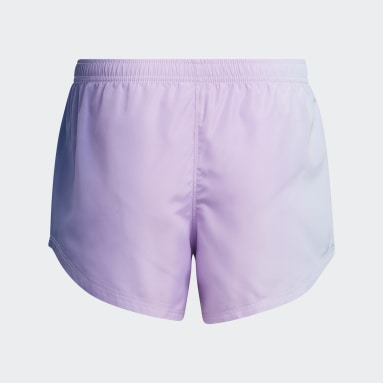 Youth Training Purple Ombré Woven Shorts
