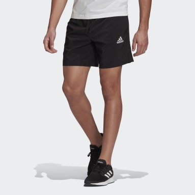 Men Sport Inspired Black AEROREADY Essentials Chelsea Small Logo Shorts