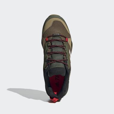 Men TERREX Green Terrex AX3 GORE-TEX Hiking Shoes