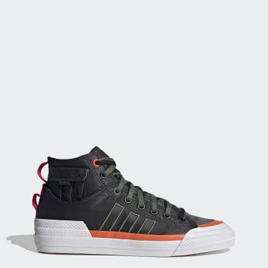 Men Originals Black Nizza Hi DL Shoes
