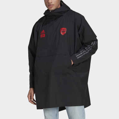 Men Football Black Arsenal x 424 Poncho