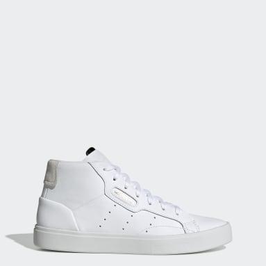 Chaussure adidas Sleek Mid blanc Femmes Originals