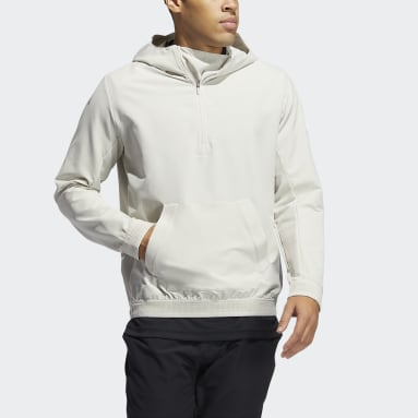 Men Golf Beige Adicross Anorak