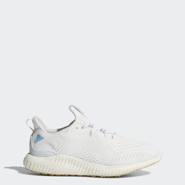 Tenis Alphabounce 1 Parley Blanco Hombre Running