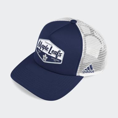 Men Hockey Multicolor Maple Leafs Foam Trucker Cap