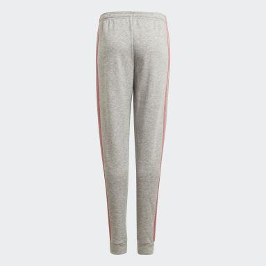 Youth 8-16 Years Sportswear Grey adidas Essentials 3-Stripes Joggers
