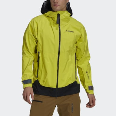 Men TERREX Yellow Terrex MYSHELTER GORE-TEX Rain Jacket