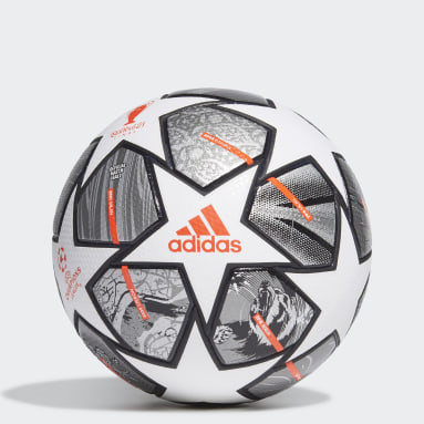 Fotbal bílá Míč Finale 21 20th Anniversary UCL Pro