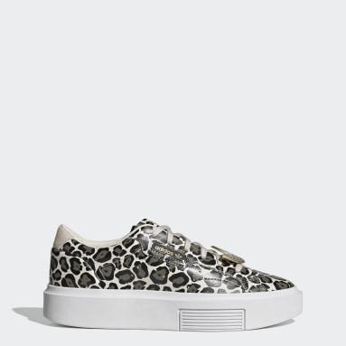 Frauen Originals adidas Sleek Super Schuh Beige