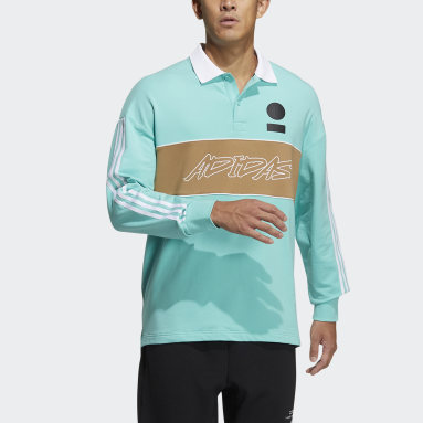 Men Sportswear Green Polo