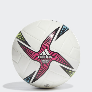 Men Football White Conext 21 Training Ball