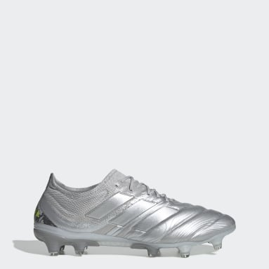 Chaussure Copa 20.1 Terrain souple Argent Femmes Football