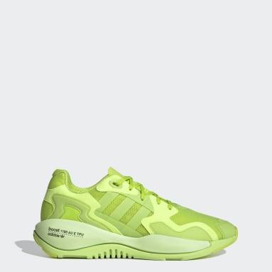 Men Originals Green ZX Alkyne Shoes