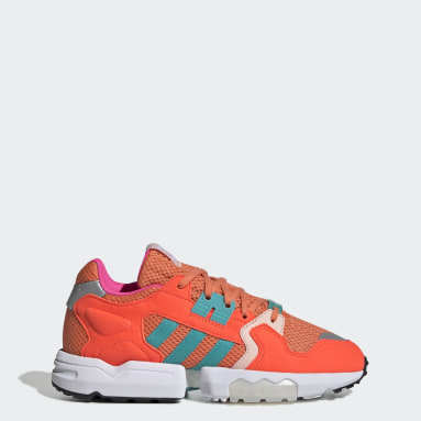 Chaussure ZX Torsion Orange Femmes Originals