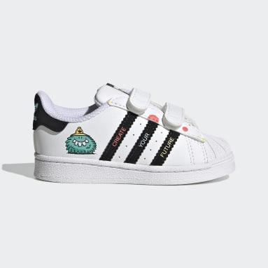 Infant & Toddler Originals White adidas x Kevin Lyons Superstar Shoes