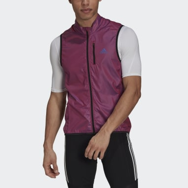 Men Cycling Purple The Sleeveless Cycling Vest