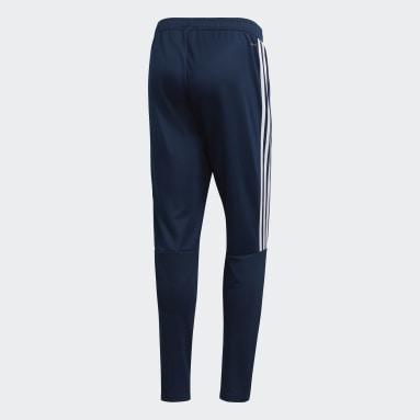 Pantalón de entrenamiento Sereno 19 - Tiro Medio Azul Hombre Fútbol