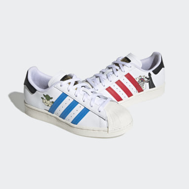 Youth 8-16 Years Originals White Superstar Star Wars Shoes