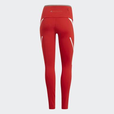 Women adidas by Stella McCartney Red adidas by Stella McCartney TRUEPACE Long Tights
