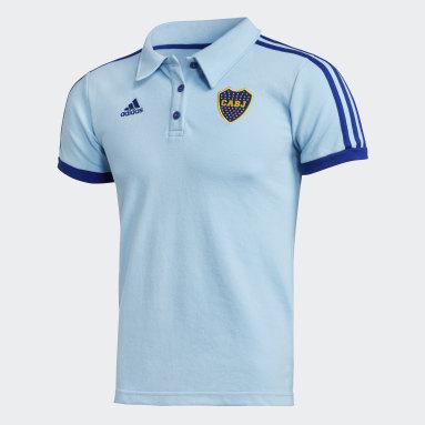 Chomba Boca Juniors 3 Tiras Azul Mujer Fútbol