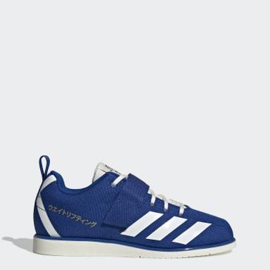 Sapatos Powerlift 4 Azul Mulher Ginásio E Treino