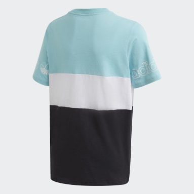 Polera Panel (UNISEX) Azul Niño Originals