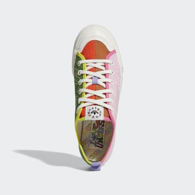 Originals Orange Nizza Pride sko