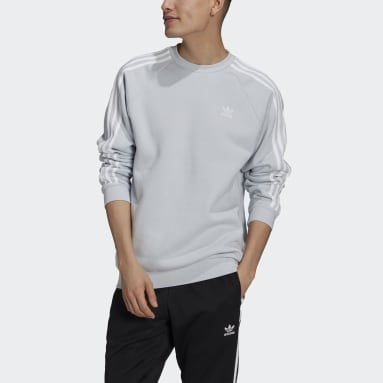Heren Originals Blauw Adicolor Classics 3-Stripes Sweatshirt