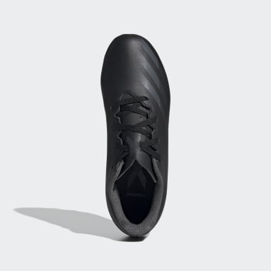 เด็กผู้ชาย ฟุตบอล สีดำ รองเท้าฟุตบอล X Ghosted.4 Flexible Ground