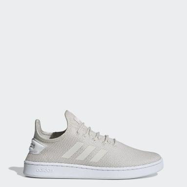Men Sport Inspired White Court Adapt Shoes