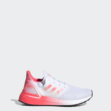 Chaussure de running Ultraboost 20 blanc Adolescents Course