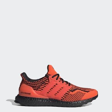 Men's Running Orange Ultraboost 5.0 DNA Shoes