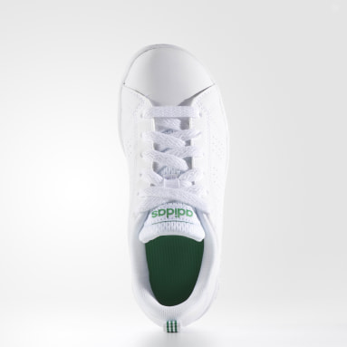 Tenis Advantage Clean (UNISEX) Blanco Niño Diseño Deportivo