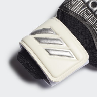 Soccer White Classic Pro Fingersave Gloves