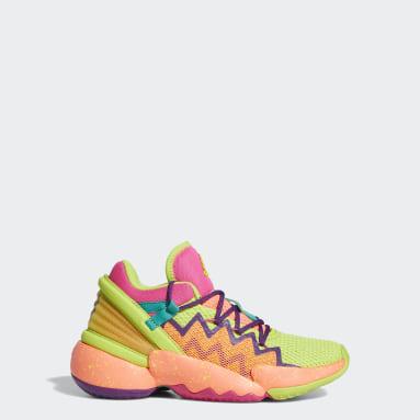 Kinderen Basketbal roze D.O.N. Issue #2 Schoenen