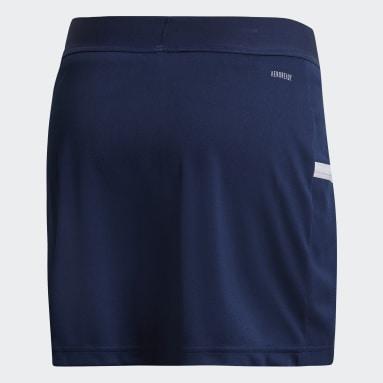 Women Football Blue Team 19 Skirt