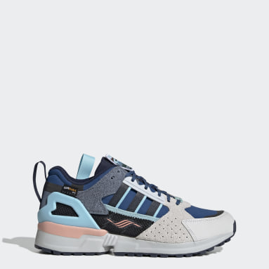 Originals White ZX 10000 Crater Lake Shoes