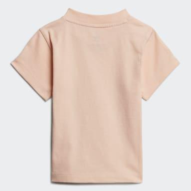 T-shirt Trefoil Rose Bambins & Bebes Originals