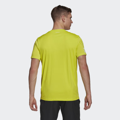 T-shirt Club Tennis 3-Stripes jaune Hommes Tennis